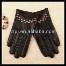 New Style Ladies Tragende Custome gemacht Leder Handschuhe