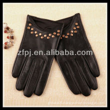 New Style Ladies Wearing custome made Leather Gloves