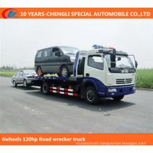6wheels 120HP Wrecker Truck, Recovery Truck