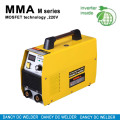 Honeycomb cooling hole design inverter arc mma welder with plastic cover MMA-180LC