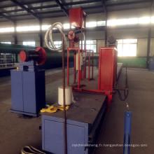 Tuyau d'éolienne de filament de tuyau de FRP / GRP faisant la machine