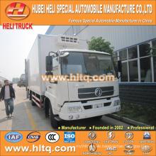 DFL 4x2 190hp 15Tons Kühlraumwagen-LKW bester Verkauf