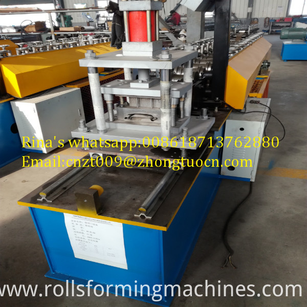 shutter door roll forming machine    6