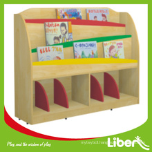 2014 new design wooden book shelf of LE-SJ.056