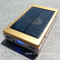 solar power bank 10000mah for camping