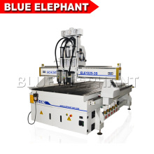 Economic ELE CNC 1325 Wood door making pneumatic cnc router cutting machine