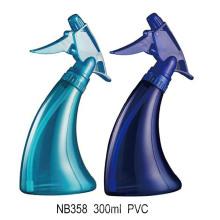 Bouteille de pulvérisateur à gâchette en plastique pour le nettoyage ménager (NB358)