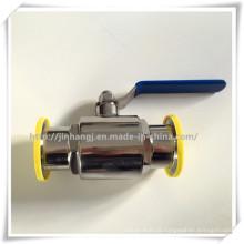 Válvula de esfera sanitária de aço inoxidável