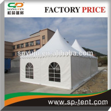 Beautiful aluminum pagoda tents with pvc cover for exhibition party event mettting