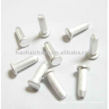Tornillo de cabeza plana de aluminio especial pequeño personalizado