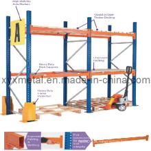 Fácil de instalar e montar prateleiras de armazenagem de armazenamento de armazém