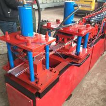 máquina perfiladora de puertas de acero