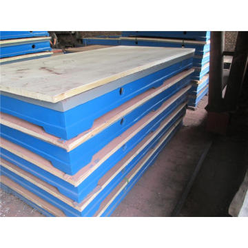 Cast Iron Coordinate Lineation Surface Plate