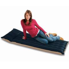 Aufblasbare Stoff Camping Matratze eingebaute Kissen Schlafsack