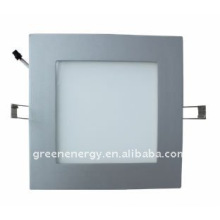 lumière menée de panneau de plafond, panneau mené 10W d'éclairage de plafond, plafonnier carré mené