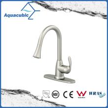 Aleación de zinc cromado sola manija Pull-Down grifo de la cocina (AF7820-5C)