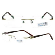 Titanium Rimless Eyeglasses Frame (BJ12-312)