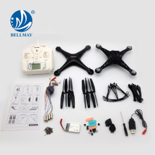 NOUVEAU Produit 2.4GHz 6 axes Gyro DIY Technology Educational RC Quadcopter avec Barameter Set High Function For Sales