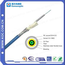 Fiber Optic Simplex Armored Kabel