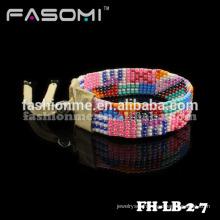 fashion seed bead wrap style festival bracelet