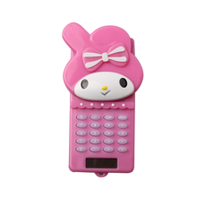 8 Digits Cute Little Girl Shape Pocket Calculator