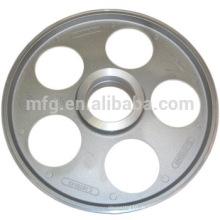OEM-Druckguss Aluminium-Legierung Riemenscheibe Rad / Flansch Rad