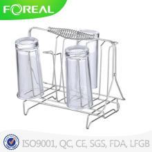 Support de rangement et porte-vitres Porte-gobelets en verre