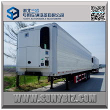 45ft 3axles Refrigerated Semi Trailer