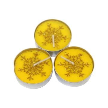 Cahaya Tea Natural Lilin tealight warna-warni