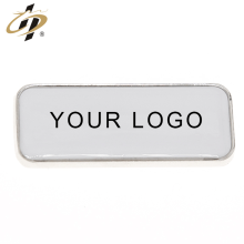 Custom rectangle blank metal silver fridge magnets with own logo