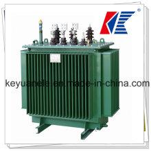 Transformador de distribución de inmersión de aceite de 11kv