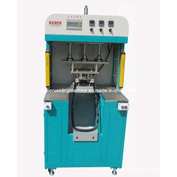Máquina de solda para peças de plástico usando método de fusão a quente
