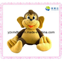 Brinquedo macio do brinquedo do macaco da peluche