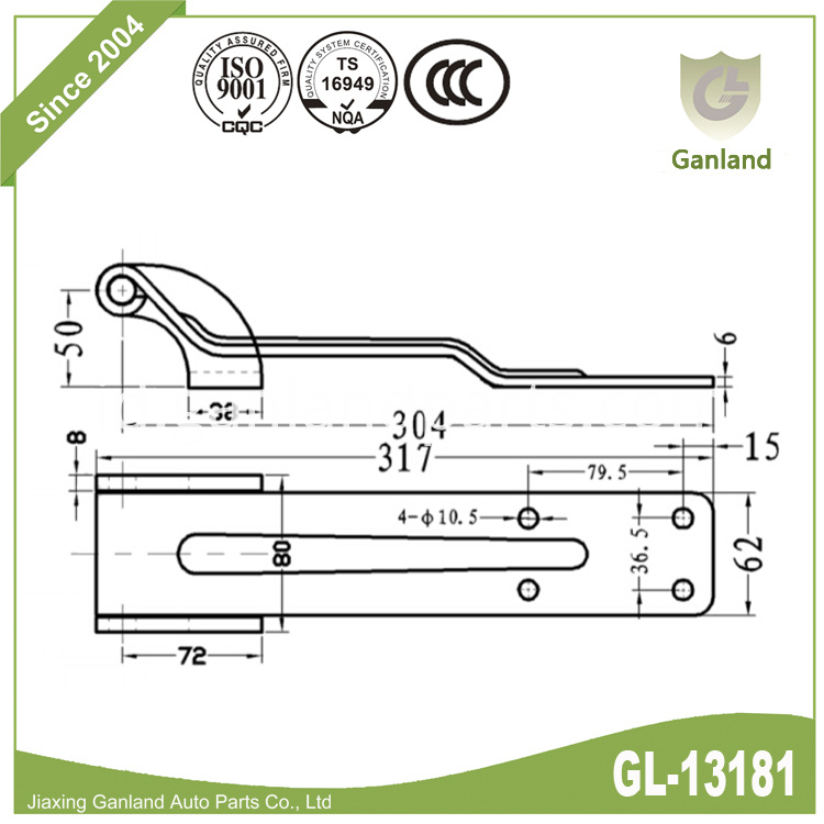 Heavy Duty Hinge Specification gl-13181