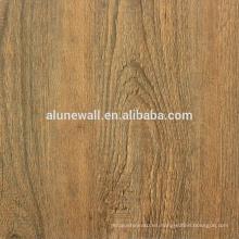 Material de decoración madera acabado panel compuesto de aluminio ACM