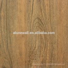 Matériau de décoration bois fini panneau composite en aluminium ACM