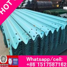 Ограждение Waveform Дорожное ограждение 4320 мм × 306/310/312 мм Трехступенчатая пластина ограждения - Пластиковая доска ограждения для напыления