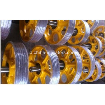 Lift suspensi Pulley besi cor Pulley