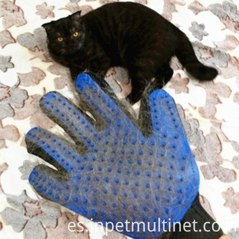 Deshedding Brush Glove For Animal Cat Supplies Pet Gloves Hair Comb Five Finger Glove For Cat 3