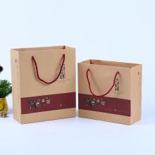 Cheap for Kraft Paper Shopping Bags Reusable Food Pouch Stand Up kraft Paper Bags supply to Indonesia Importers