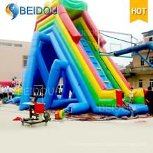 Hot Sale Factory Durable Giant toboggan gonflable pour adulte