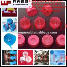 Molde plástico do tampão de garrafa de 5 galões / projeto plástico molde do tampão de garrafa