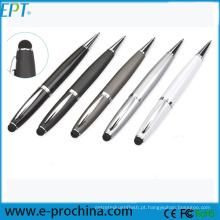 Movimentação personalizada do flash do USB da pena do estilete do logotipo para a promoção (EP42)