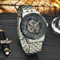 chinese movement automatic sport mechanical mens watch