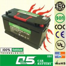 Дин-58515 12V85AH Рециркулирует MF для автомобильного аккумулятора