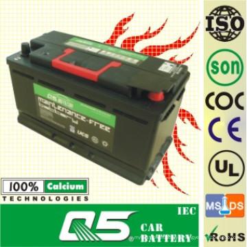 DIN-58515 12V85AH MF Recycle pour batterie de voiture