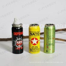 Lata de alumínio do aerossol do pulverizador da névoa para o empacotamento do desodorizante (PPC-AAC-029)