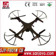 2015 Mejor rendimiento develar drone de alta velocidad Drone batman con 2.4g fpv cámara de control remoto quadcopter