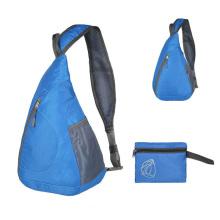 Custom Logo foldable  messenger bag chest Crossbody Sport  bag chest bag for men women