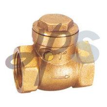 válvula de retenção de bronze